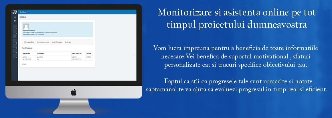 Monitorizare online