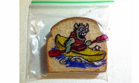 Φοβερός μπαμπάς που κάνει τα καλύτερα παιδικά σάντουιτς