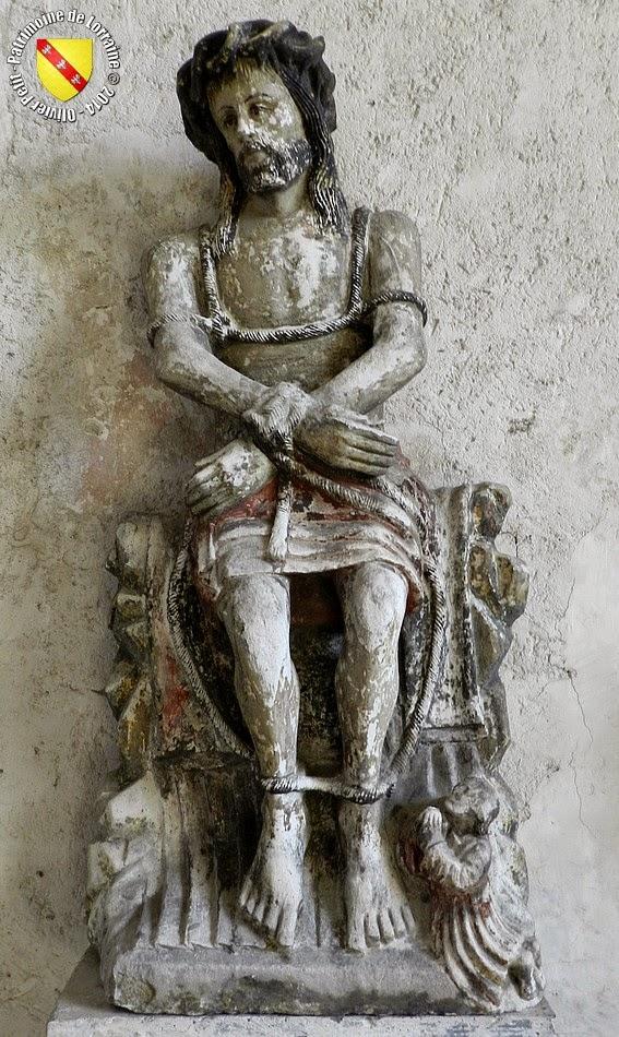 BULGNEVILLE (88) - Christ aux liens (XVIIe siècle)