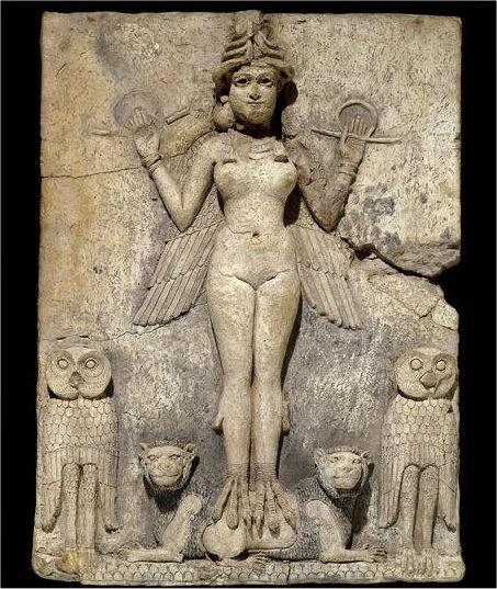 La diosa Ishtar