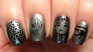 Egypt Stamped Nails