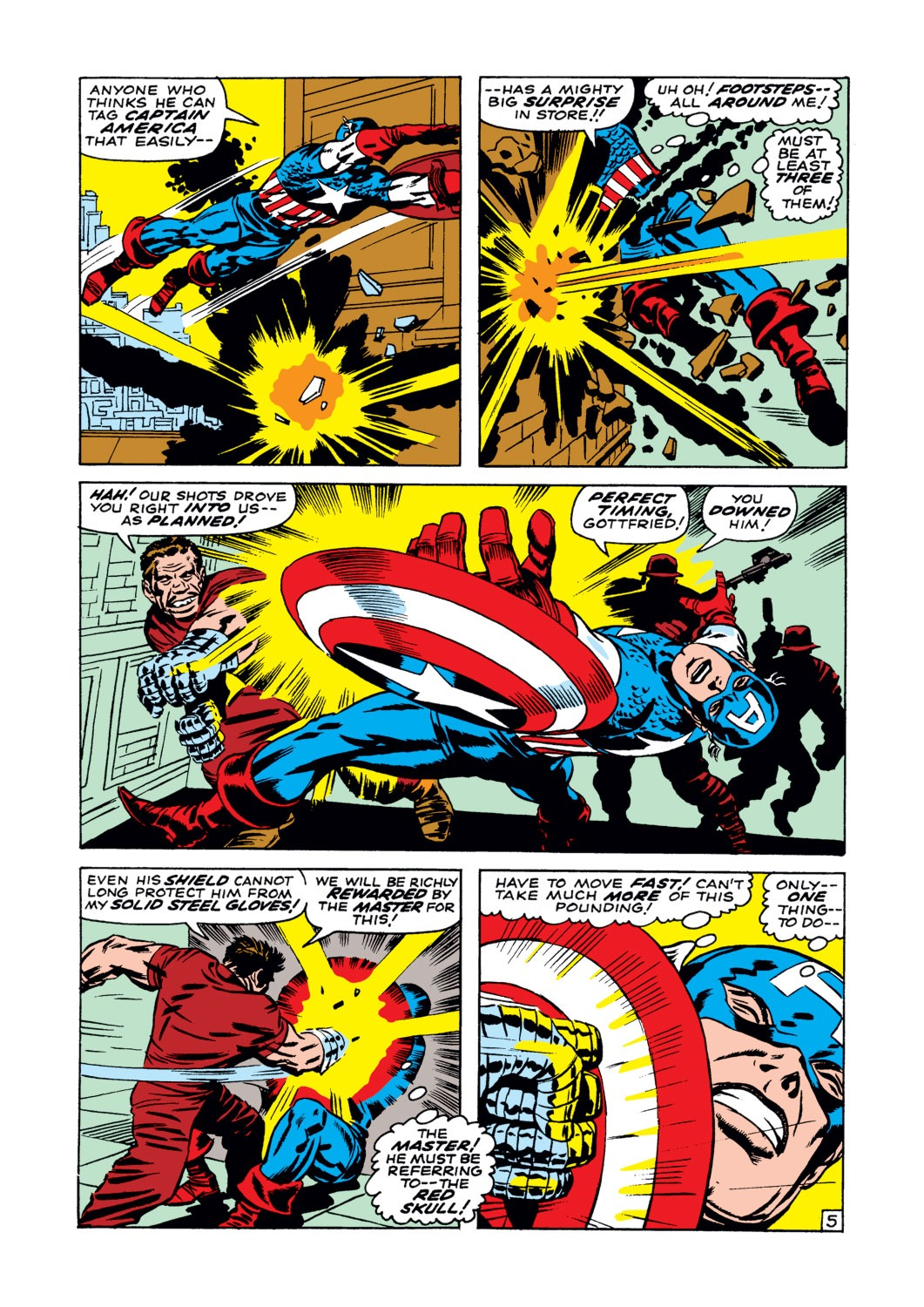 Captain America (1968) Issue #102 #16 - English 6