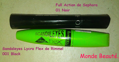Mascara Rimmel et Sephora