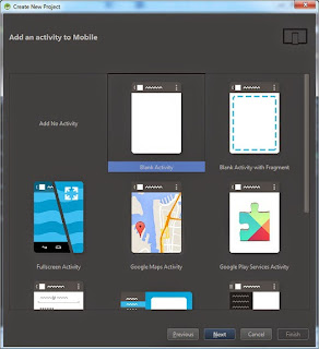 BlankActivity Android
