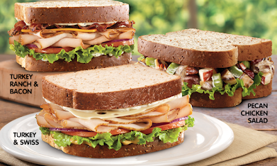 Buy a Market Fresh sandwich at Arby's (looks good for a hot summer ...