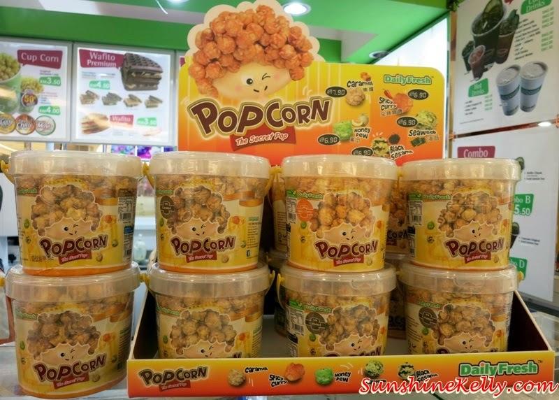 Daily Fresh Ready To Go Snacks, Daily Fresh, Ready Snacks, Healthy Convenient Snacks, Cupcorn, wafito, popcorn, gelato tempo, icekimo