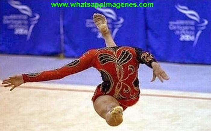 Perfectly Timed Gymnastic