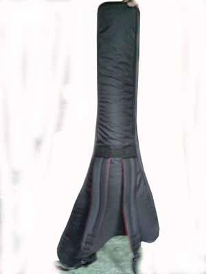 tas gitar flying v model gendong ransel punggung