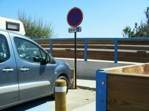 Disabled Holidays in Les Saintes Maries de la Mer- Disabled Parking