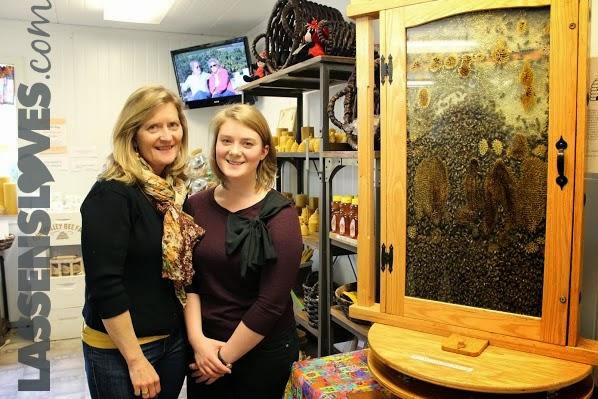 Bennetts+honey, live+hive
