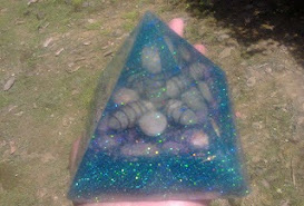 Gambar 13: Orgonite Piramida