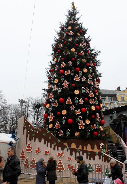 Главная ёлка Киева