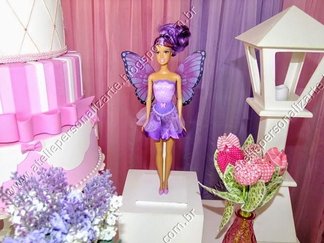 Decoração festa Barbie Butterfly provençal