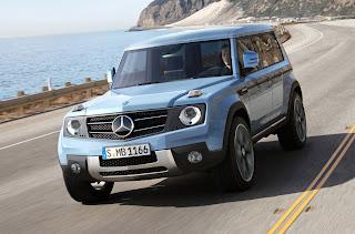New Mercedes GLG