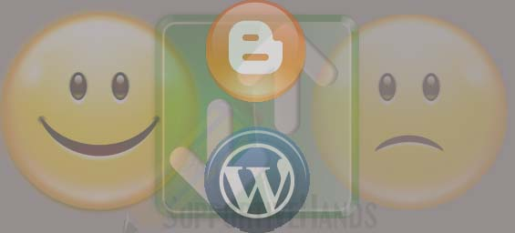 advangates and disadvantages of moving blog from blogger to wordpress