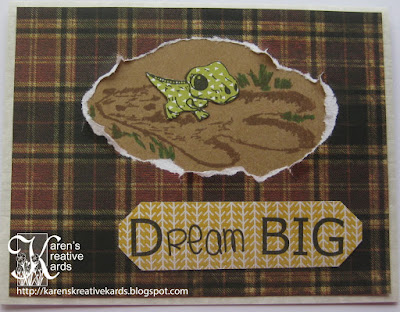karen's kreative kards: dream big!