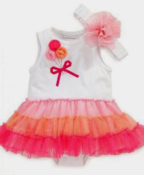 Tutu dress baju cantik untuk anak perempuan model terbaru
