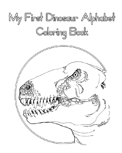 Dinosaurs Alphabet Pages