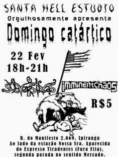 Dia 22/02 em São Paulo