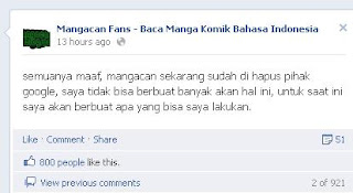 Mangacan.blogspot.com dihapus