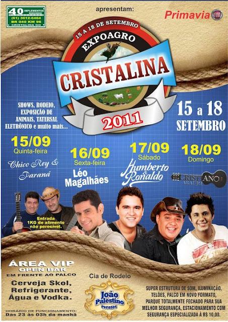 23ª Expoagro de Cristalina Goiás