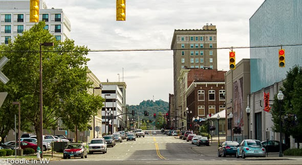 Image of Downtown Huntington, WV from Harris Riverfront Park