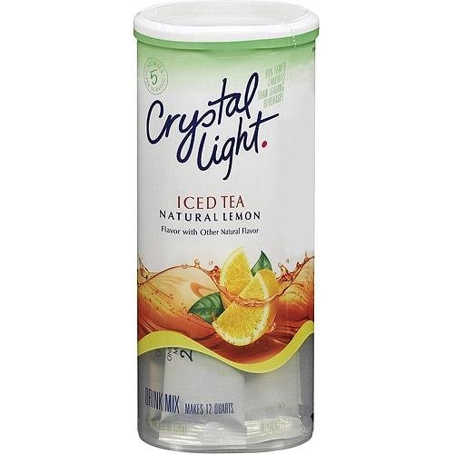 crystal light iced tea natural lemon 1oz 8pack. Black Bedroom Furniture Sets. Home Design Ideas