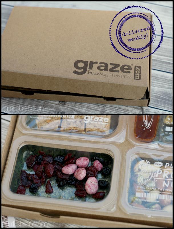 Snacking REINVENTED with Graze.com - a review via @girlichef