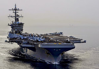 USS THEODORE ROSEVELT SUPPORTING OPERATIONS IN SYRIA AND IRAQ