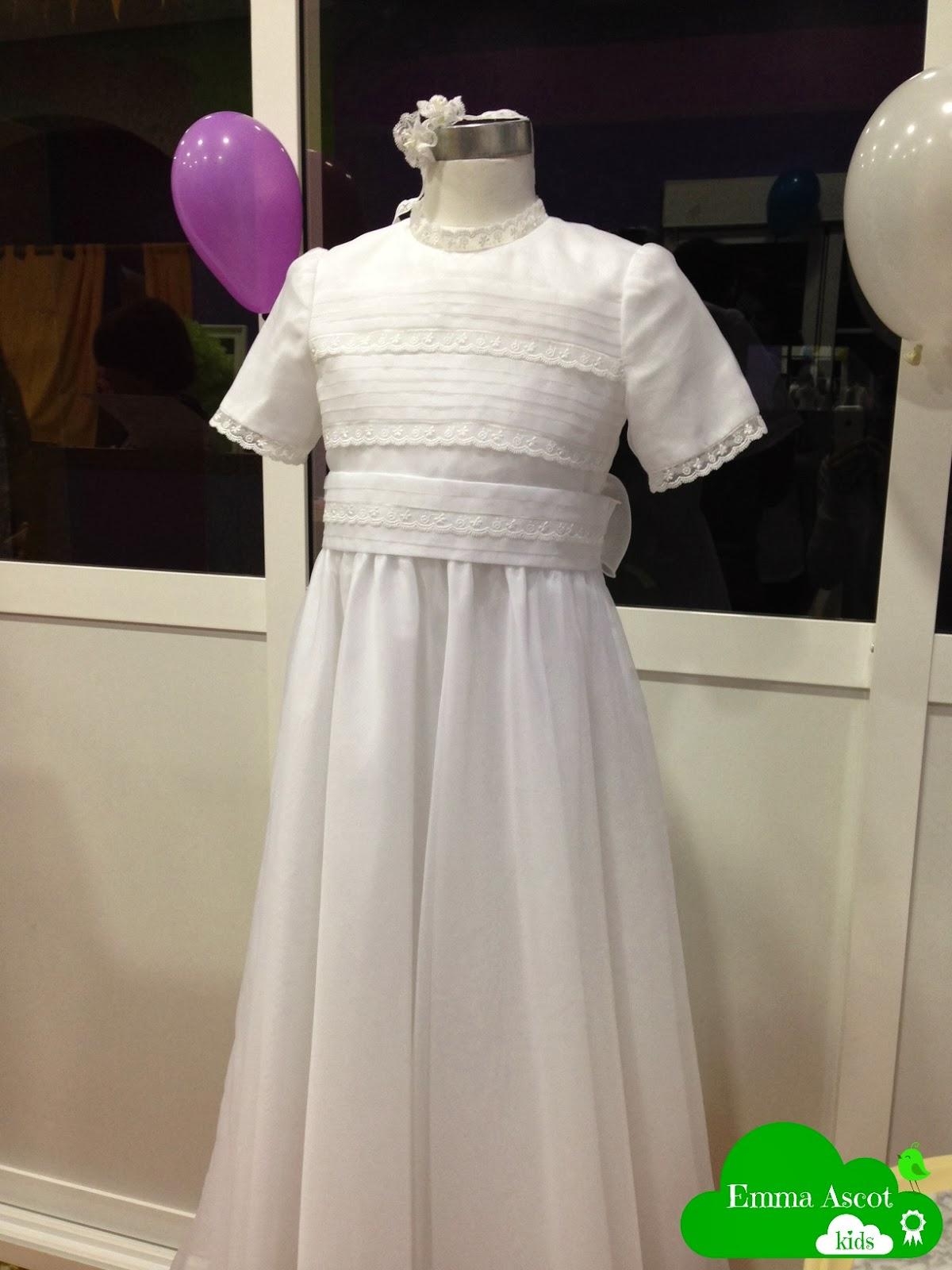 Vestido de niña de Primera Comunión
