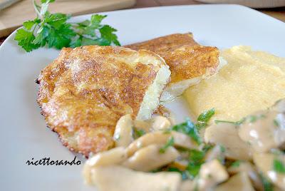 frico piatto vegetariano ricetta tradizionale di patate e formaggi