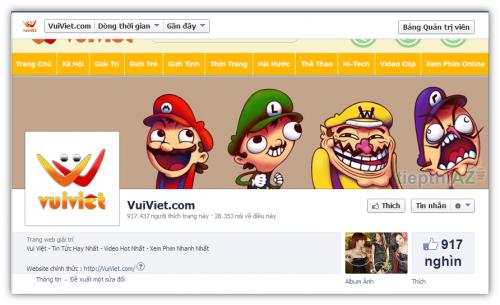 Dịch vụ tăng like facebook fanpage giá rẻ chất lượng cao