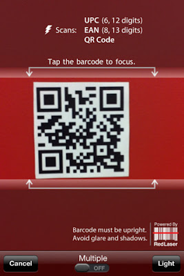 RedLaser - Barcode Scanner and QR Code Reader Free Download