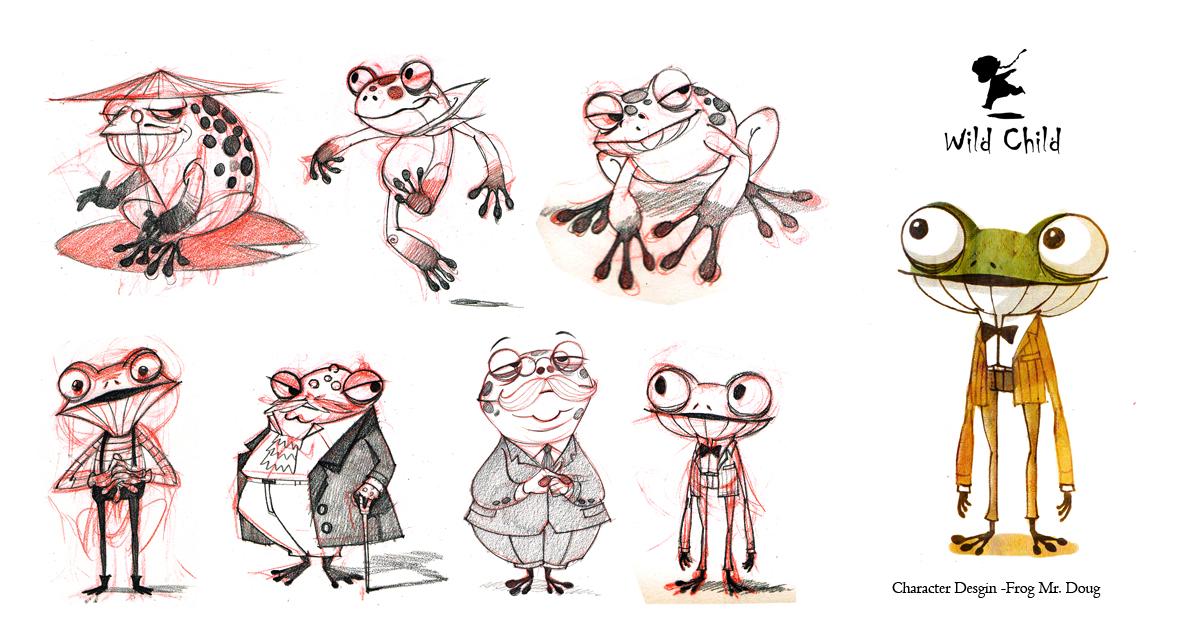 Character Design Artist Job Description : Wild child