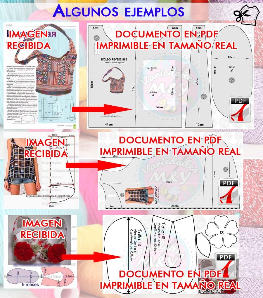 Elaboramos Patrones de Costura a Tamaño Real | Variedades M&Y