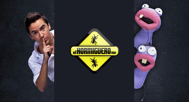 Poster del programa El Hormiguero MX 2014, versión mexicana | Ximinia