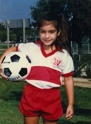 Kim Kardashian Childhood Photos