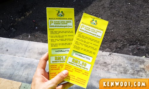 ipoh parking coupon