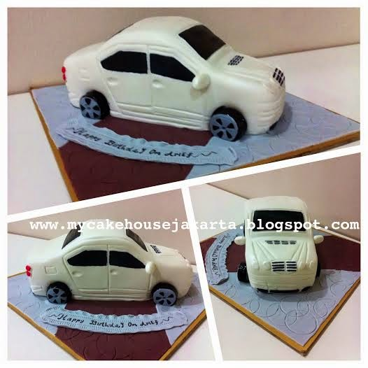 Mycakehouse mercedes benz e class cake for Mercedes benz cake design