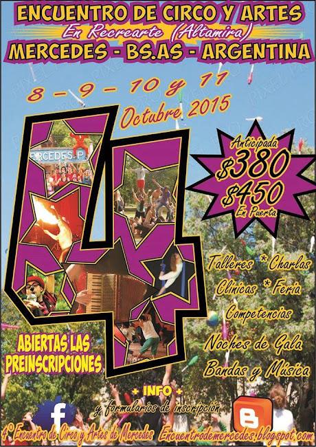 4º Encuentro de Circo y Artes de Mercedes