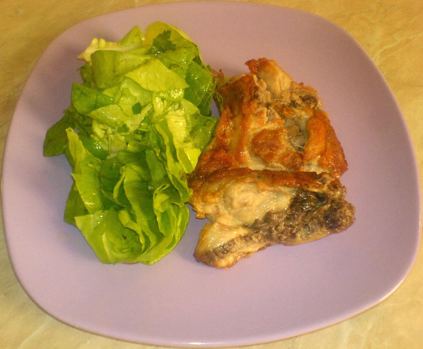retete dietetice, mancare sanatoasa, retete culinare, friptura de pui cu salata, retete cu pui, retete zepter, cura de slabire