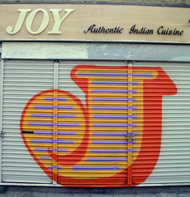 graffiti alphabet letter J