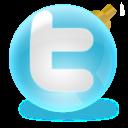 Twitter follow badge widget