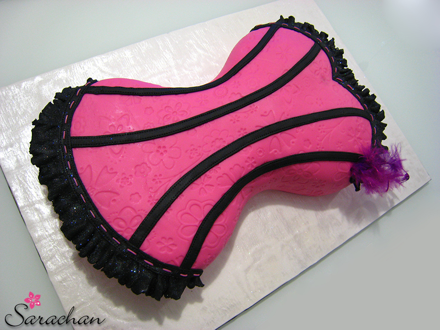 Corset Cakes Images