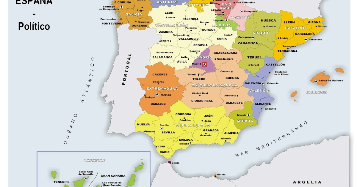 Mapa de Venezuela - Mapa Físico, Geográfico, Político