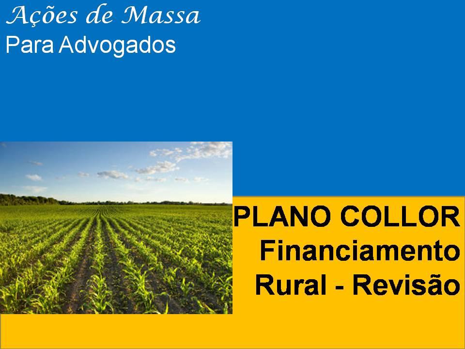 Revisão do plano collor rural