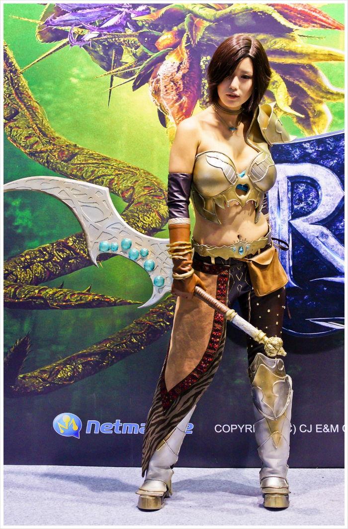 song jina sexy gstar 2011 cosplay