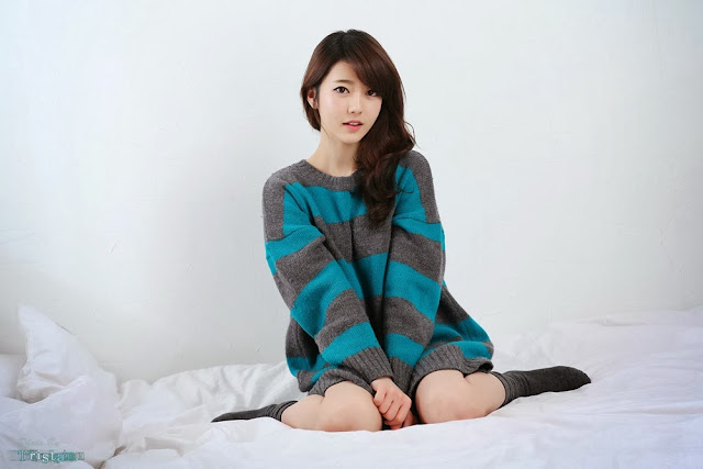 1 Bo Mi on bed -Very cute asian girl - girlcute4u.blogspot.com