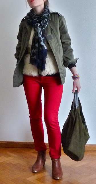 Look Ootd Street Style Mode Fashion Camaïeu H&M Kiliwatch Jonak  Zara Etam Una Nox Noeud me quitte pas