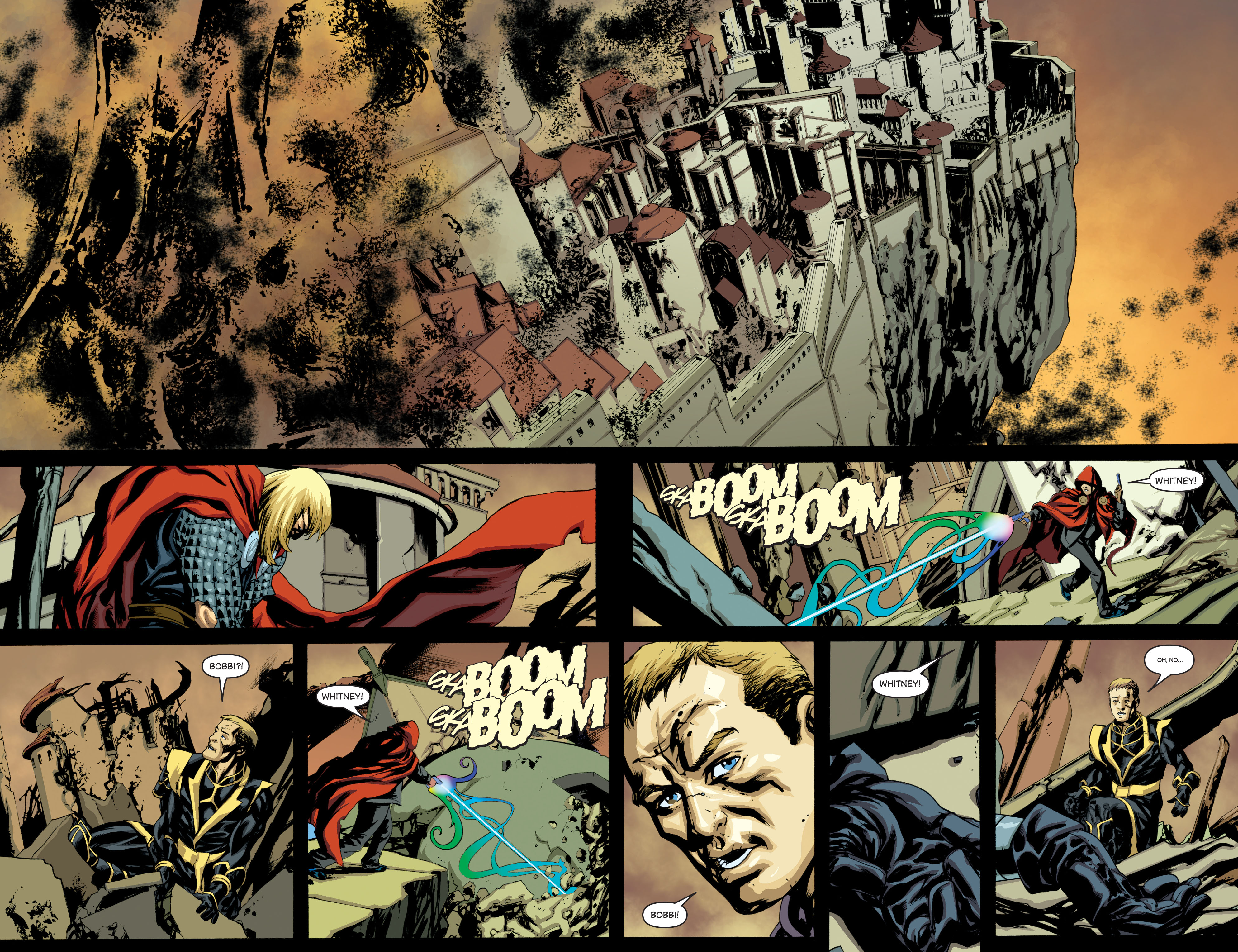 New Avengers (2005) chap 64 pic 13